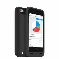 mophie space pack wireless Battery Case with 32GB Storage for iPhone 6s/6 (3,300