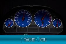 BMW Tachoscheiben Tacho E39 Benzin oder Diesel M5 BLAU 3077 Tachoscheibe X5