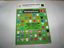 World Soccer Winning Eleven 6 Konami Perfect Official Guide Book Japan import