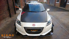 Honda CR-Z Gloss Front Bumper Splitter / Diffuser / Lip for Racing v4