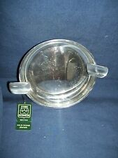 Lot of two Etains Du Manoir Ashtrays Used