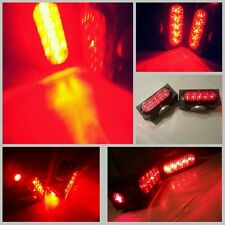"NEW! Pair of Towaide TA80 Wireless Tow Lights 8"" magnetic tow truck wrecker RED"