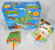TMNT LEO'S JOLLY TURTLE TUBBOAT W/BOX PLAYMATES TEENAGE MUTANT NINJA TURTLES