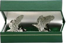 NEW Eagle hawk Cufflinks birthday fathers falconry gift