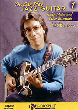 Learn To Play The Electric Jazz Guitar DVD Tutor Lesson