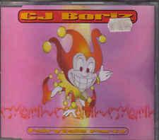 CJ Boriz-Fairytale Party cd maxi single eurodance Holland