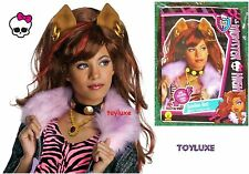 Monster High CLAWDEEN WOLF Fashion Dress Up CHILD WIG Halloween Costume Hair NEW