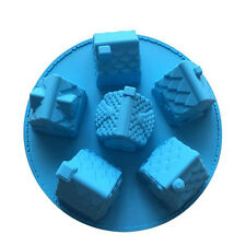 Christmas House Shape Cake Molds Used For Making Chocolate And Bread Etc