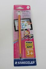 Staedtler Noris Stylus Learner Pencil HB (Made in Germany) - 1x HB Pink body