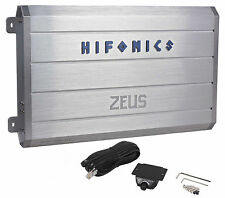 Hifonics Zeus ZRX2416.1D 2400W RMS Mono Block Class D Car Amplifier+Bass Remote