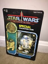 Star Wars 1985 Kenner POTF 92-back R2-D2 Pop Up Saber Mint on card Unpunched MOC