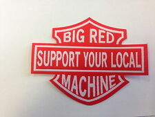 SUPPORT 81 NOMADS BIG RED MACHINE 81 PATCH ANGELS 666 HELLS 1 % ER PATCH BADGE