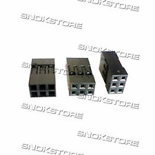 3pcs DUPONT CONNECTOR HOUSING FEMALE 2.54mm 2X3P DIY pitch connettore dupont