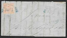 Braunschweig covers 185? MI 1 folded letter