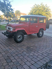 1978 Toyota Land Cruiser Hard top
