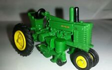 1/64 ERTL custom John deere model A with 2 row mounted planter tractor farm toy