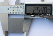 1 Pyrolytic graphite square 25 mm x 25 mm x 1 mm 99.99% 1.5 g - sent 1st class.