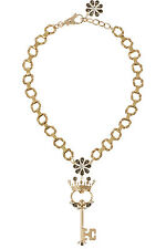 **DOLCE & GABBANA** Gold Plated Swarovski Crystal Necklace **RUNWAY**