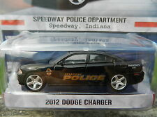 1:64 GreenLight *HOT PURSUIT R13* 2012 Dodge Charger SPEEDWAY, IN Police Car NIP