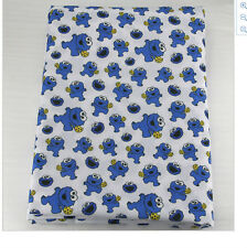 Cookie Monster Fabric Poly Cotton 1m X 1.47m