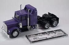 HO 1/87 Promotex Herpa # 25274 KW  W-900 long tractor w/Aerodyne sleeper Purple