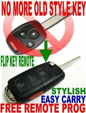 ALin1 FLIP KEY REMOTE FOR 2003-2007 ACCORD CHIP TRANSPONDER KEYLESS ENTRY FOB VW