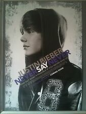 Cinema Poster: JUSTIN BIEBER NEVER SAY NEVER 2011 (Advance One Sheet)
