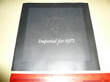 1973 Chrysler Imperial Sales Brochure - Vintage Mopar