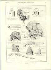 1890 Chelsea Real Militar exposición pistolas espadas Casco