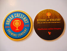 Beer Coaster ~ URBAN CHESTNUT Brewing Company ~ St Louis, MISSOURI Craft Brewery