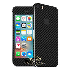 SopiGuard Full Body Carbon Fiber Film 3 X Screen Protector Apple iPhone 5S
