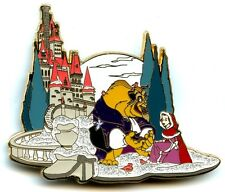 Disney Beauty And The Beast Winter Belle Scene (LE100) Fantasy Pin