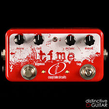 BRAND NEW CRAZY TUBE CIRCUITS BOUTIQUE EFFECTS TIME MKII ANALOG & DIGITAL DELAY