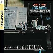 QUINCY JONES EXPLORES THE MUSIC OF HENRY MANCINI CD JAZZ NEW SEALED