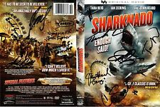 Sharknado DVD SIGNED 12X extra IAN ZIERING SHARK DRAWING Plus Photos of signing