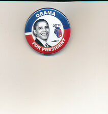 """Official 10th Illinois Dist Obama for president 1 1/2"""" button (small size) 2012"""