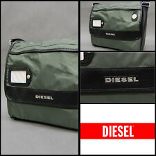 Diesel Men's Olive Green On The Road Again Voyage Messenger HandBag