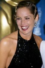 Sharon Stone 11x17 Mini Poster smiling at Oscars Academy Awards