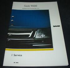 Werkstatthandbuch Saab 9000 Service Liefer Inspektion ab Baujahr 1993!