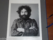 Jerry Garcia Grateful Dead Baron Wolman SIGNED Photograph Photo Art Print Poster