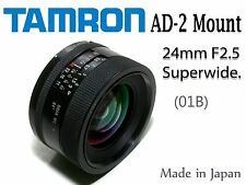 Tamron 24mm F2.5 BBAR Superwide Angle lens. Universal Adaptall 2 Mount system