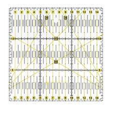 15 * 15cm * 0.3cm Quality Acrylic Material Square Sewing Patchwork Ruler New