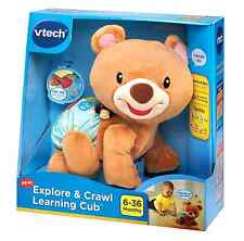 Teddy Bear Plush Crawl Toy Learning Cub Baby VTech Explore New Play Songs