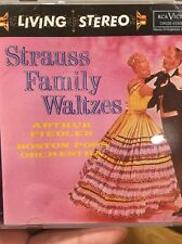 Fiedler Strauss Family Waltzes CD