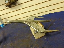 Vintage 1955 Mercury Montclair Hood Ornament, Jet Airplane, Bird 55 1956 56