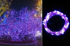 20/30/40er LEDs Warmweiss Bunt LED Lichterkette Beleuchtung für Batterie DE