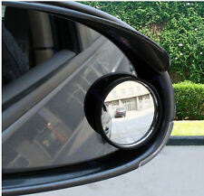 Car Vehicle 2pcs Driver Wide Angle Round Convex Mirror Blind Spot Auto RearView