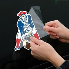 "New England Patriots Throwback 8"" X 8"" Perfect Cut Vinyl Color Decal"