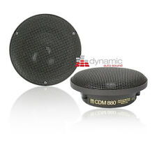 "MOREL CDM-880 3.5"" Car Audio / Stereo Mid-Range Speakers Drivers New"