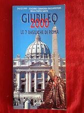 Guida turistica GIUBILEO 2000 Le 7 basiliche di Roma